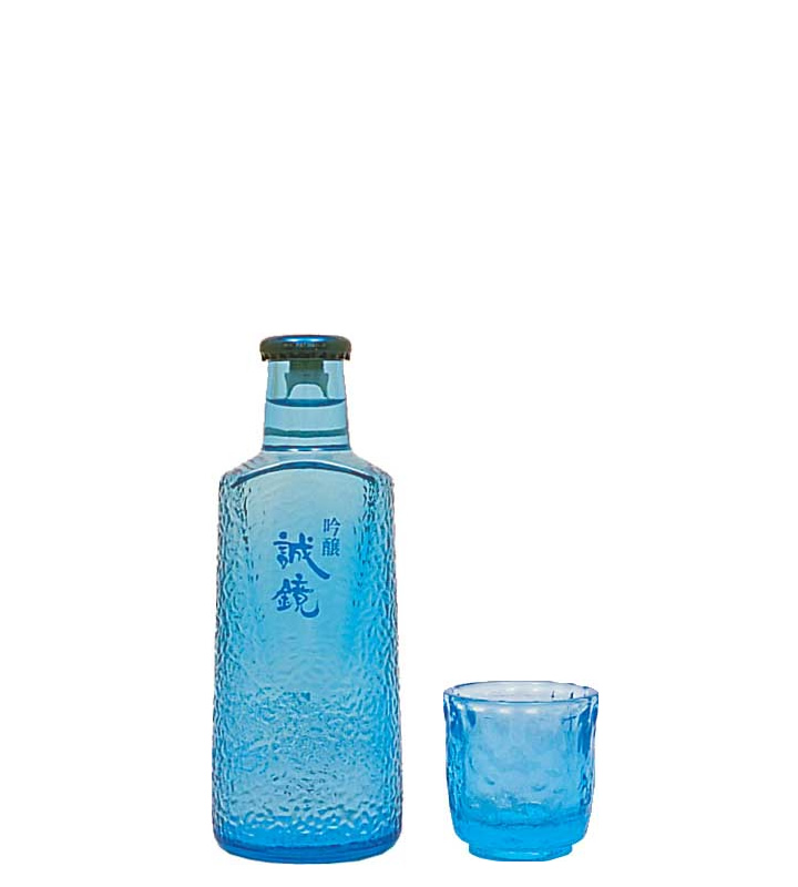 Ginjo Seikyo Stylish Bottle with Glass